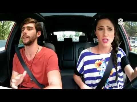 Singing In The Car | ALVARO SOLER & Lodovica Comello - SKY TV8 - YouTube