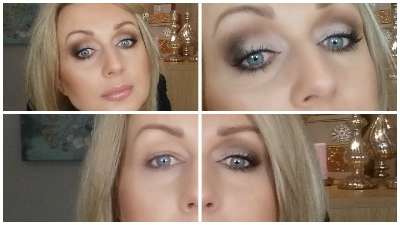 Hooded eyes make up with matte shadows onlyupdated
