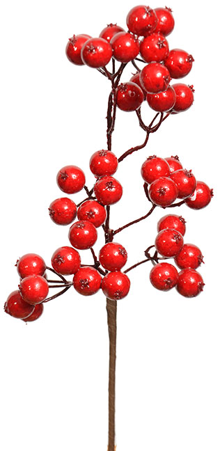Berry Spray 15 Red Berries Red Berries Wholesale Decor