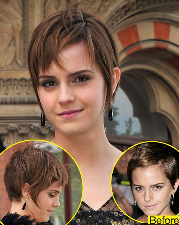 Emma Watson Is Growing Out Her Pixie Cut Do You Like The Shaggier