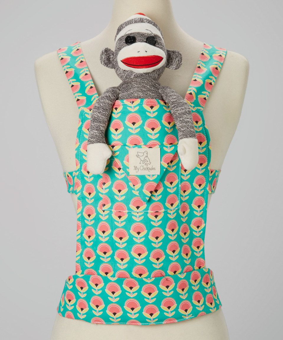 My Chickadee Blooms Ocean Large Doll Carrier by My Chickadee #zulily #zulilyfinds