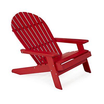 Indya fauteuil de jardin rouge en acacia jardin2 fauteuil jardin salon de jardin et salon - Alinea fauteuil jardin ...