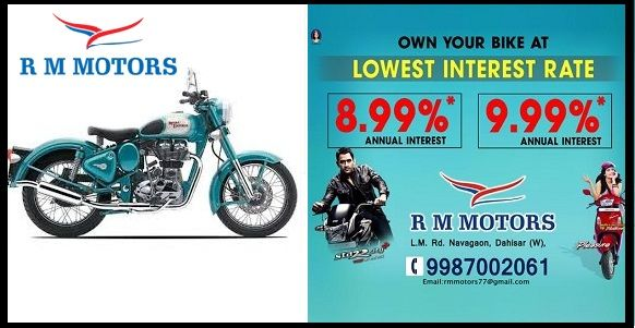 Fulfill The Dream Of Your New Bike At Rmmotors With Its Lowest