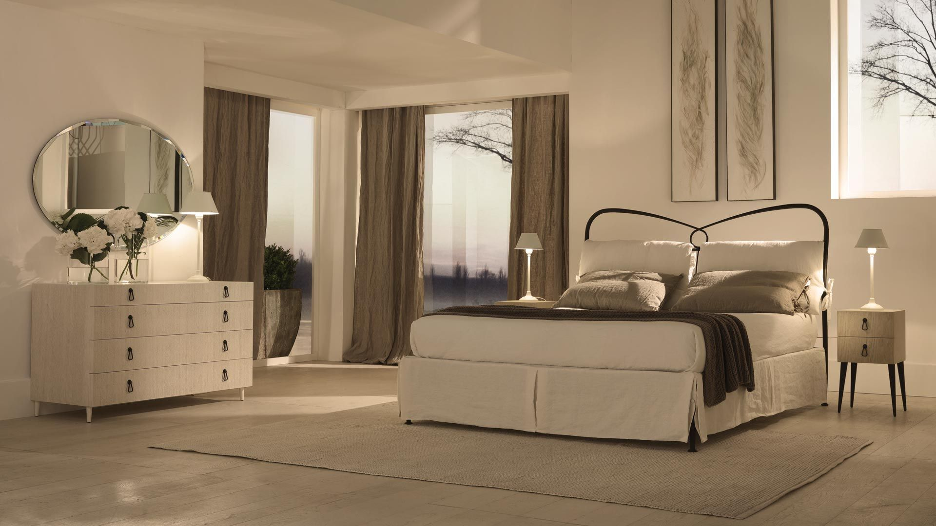 St. Tropez - Padded Beds - Cantori | Padded Beds | Pinterest ...