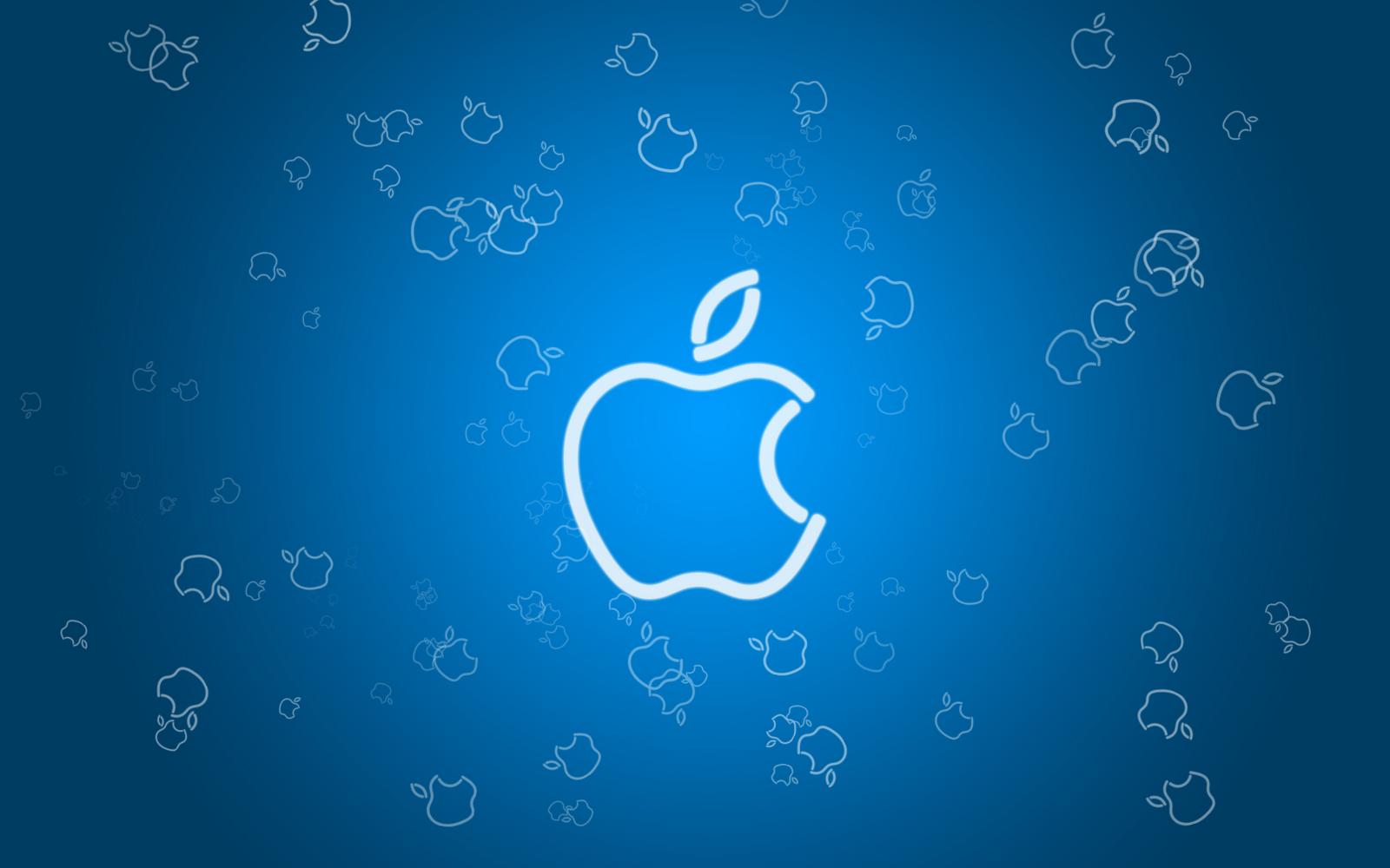 Cool Apple Logo Wallpaper