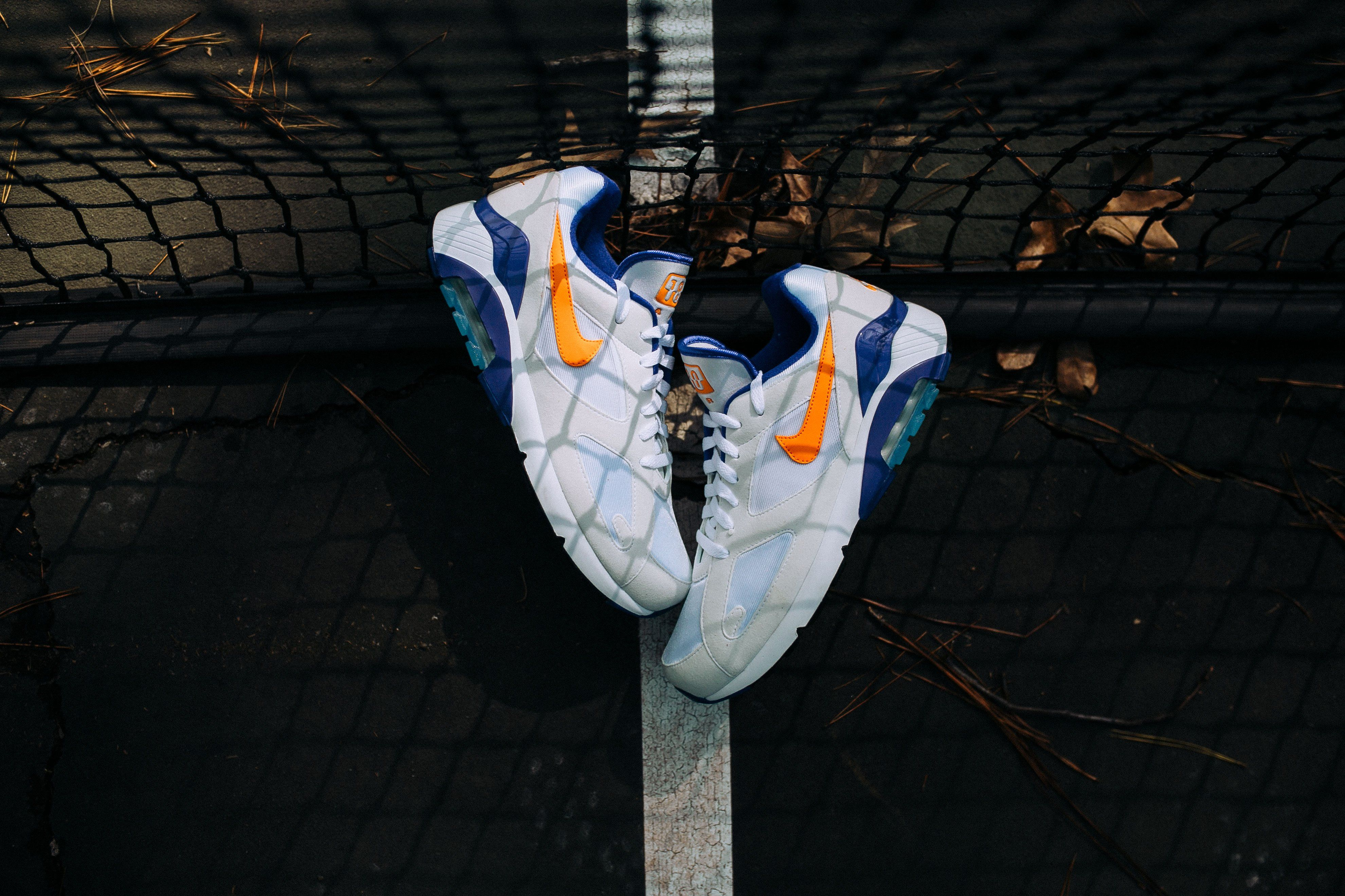 Nike Air Max 180 (WhiteBright Ceramic Dark Concord