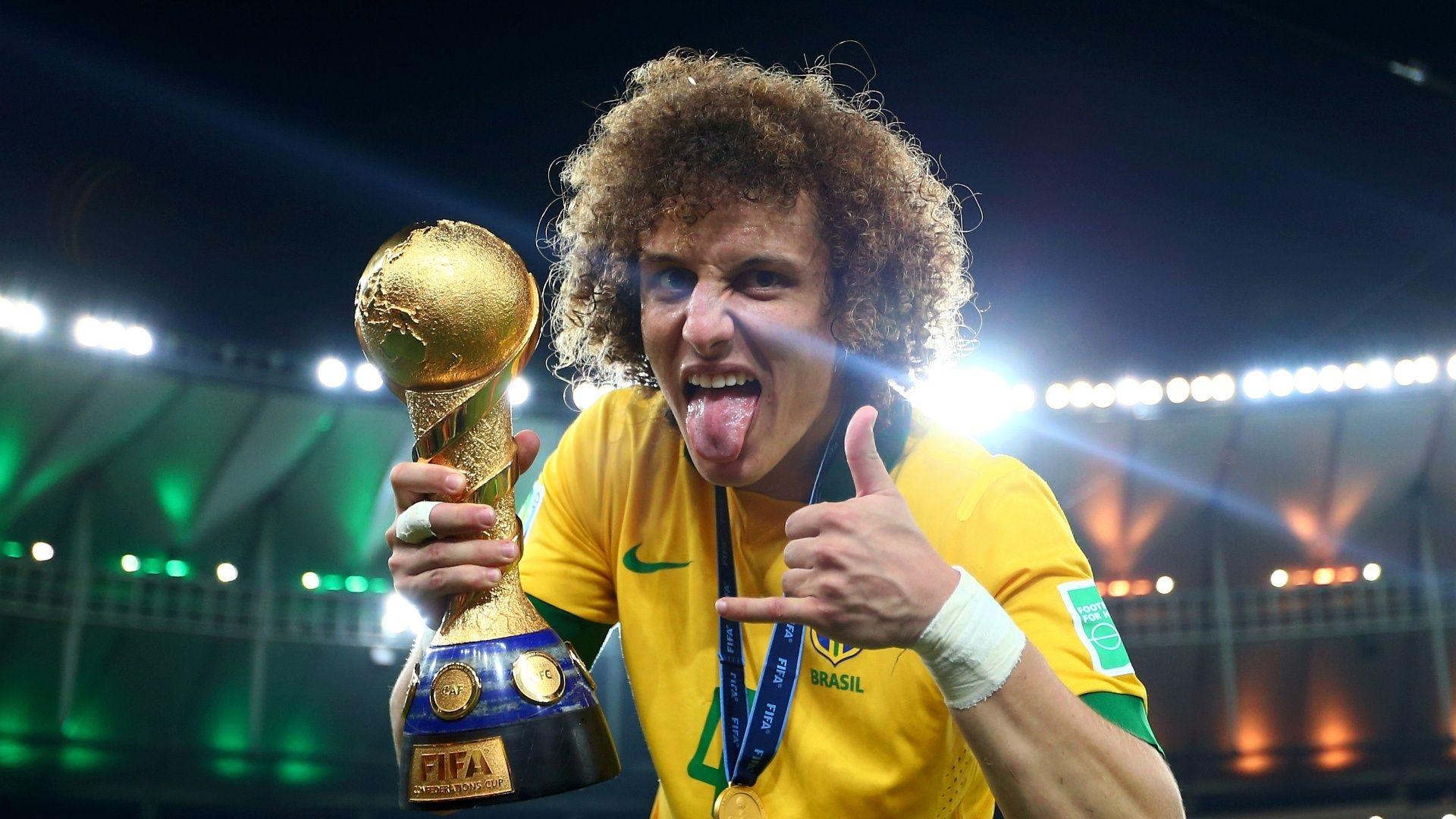 awesome David Luiz New Haircut 2017