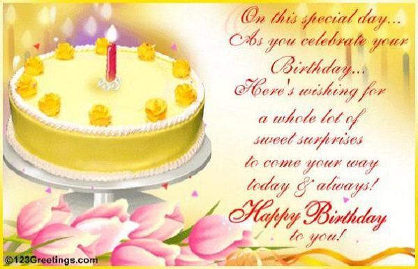 123greetings Birthday Cards My Birthday Pinterest Card