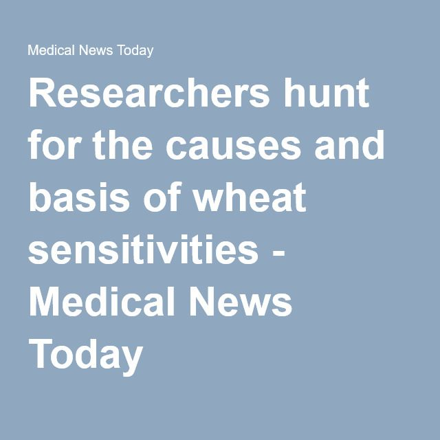 Researchers hunt for the causes and basis of wheat sensitivities - Medical News Today