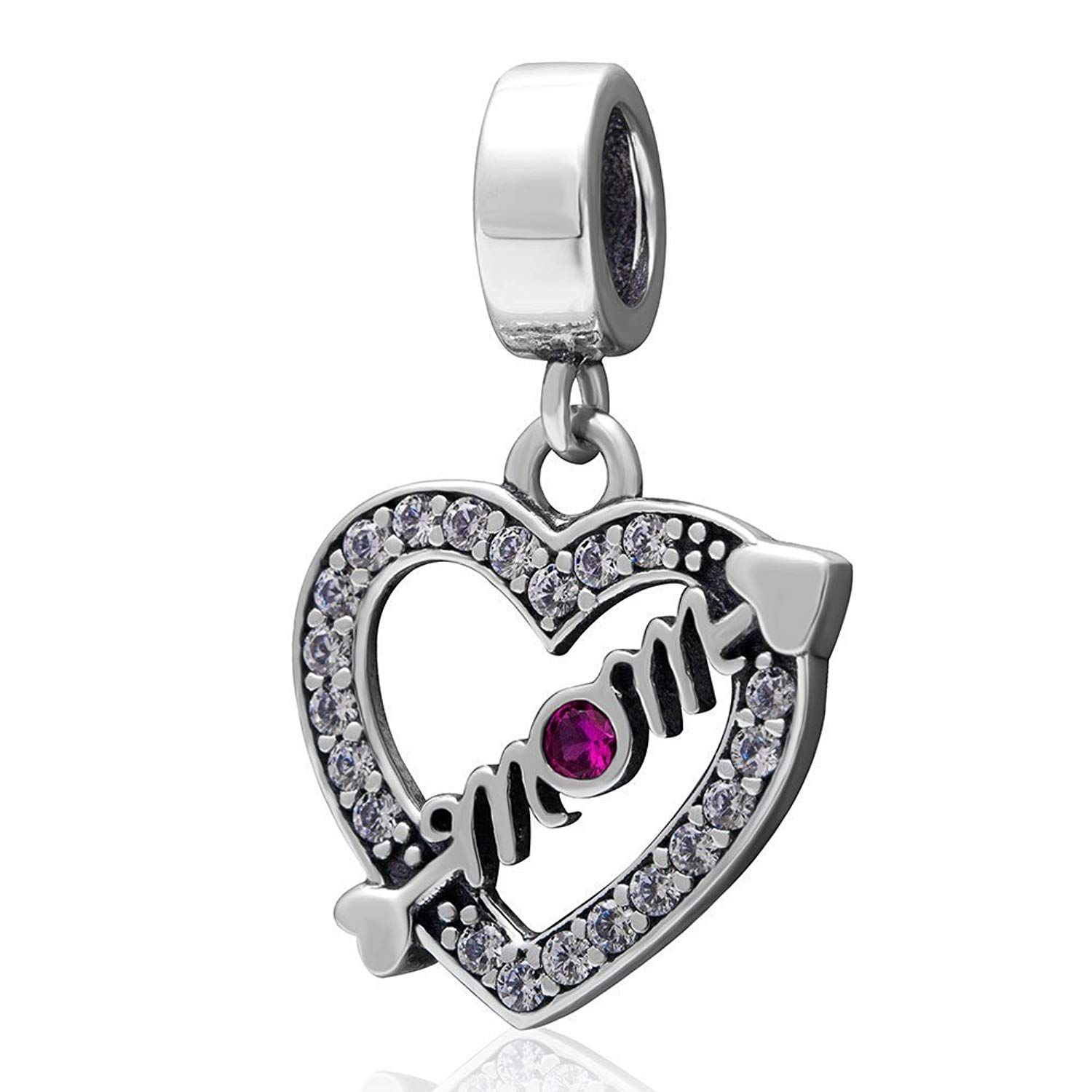 925 Sterling Silver PAN Charm Travel Popular Charms Fit Euro Charm Bracelet