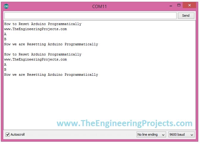Reset Arduino Programmatically Using Reset Pin Arduino Engineering Projects Arduino Projects