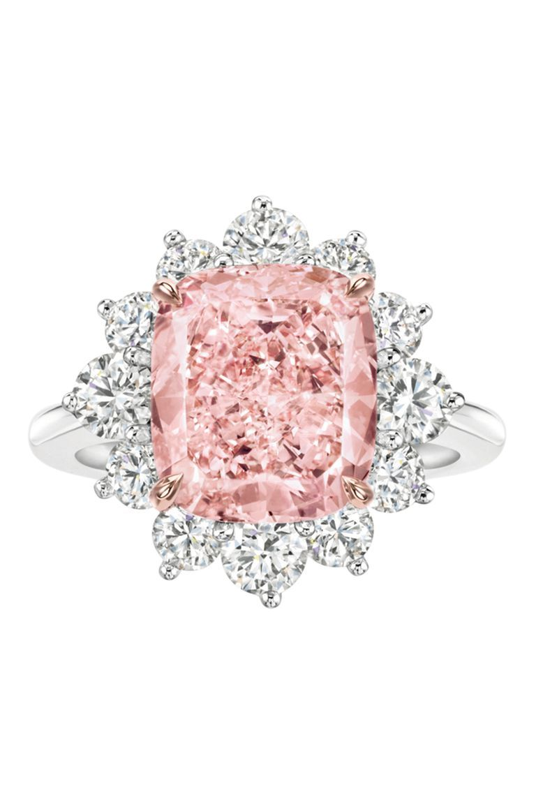 The Pink Engagement Ring Makes A Classy Comeback | Pinterest | Pink ...