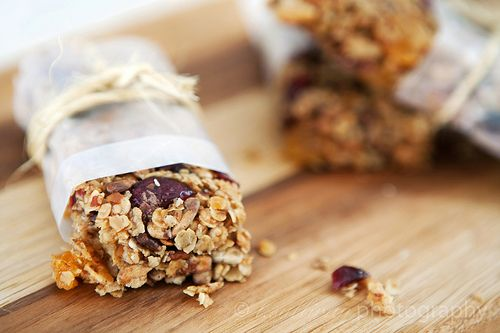 I want to make my own granola bars.  These chewy orange cranberry ones may be a good place to start.