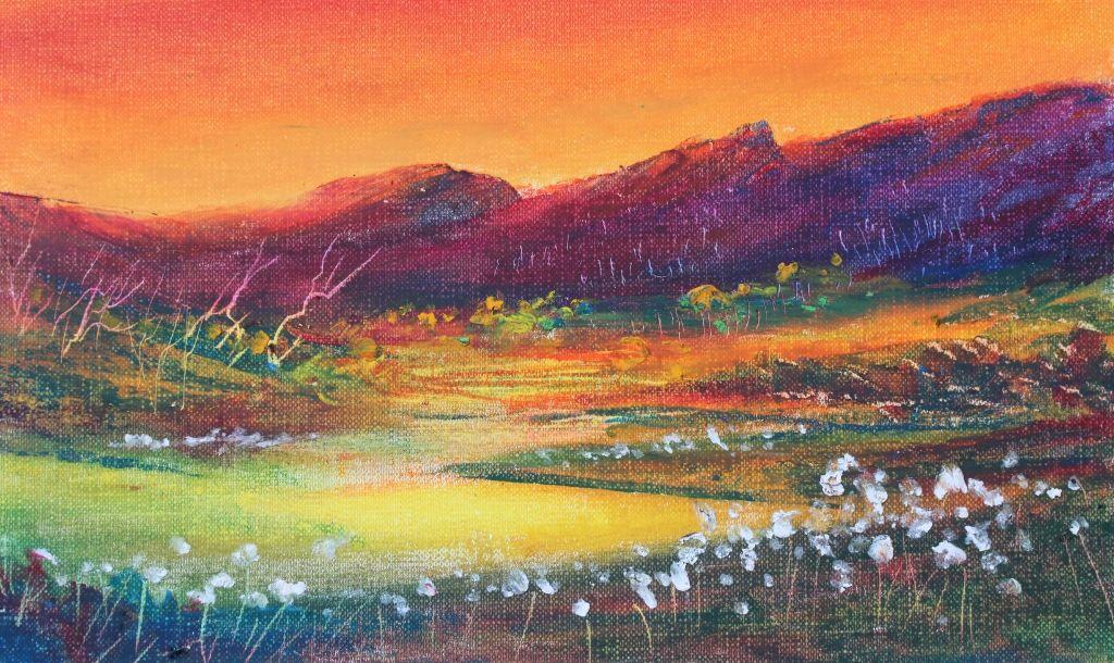 Oil Pastel Paintings Oil Pastel Painting Evantart S Blog Pastel Painting Oil Pastel Paintings Oil Pastel Landscape