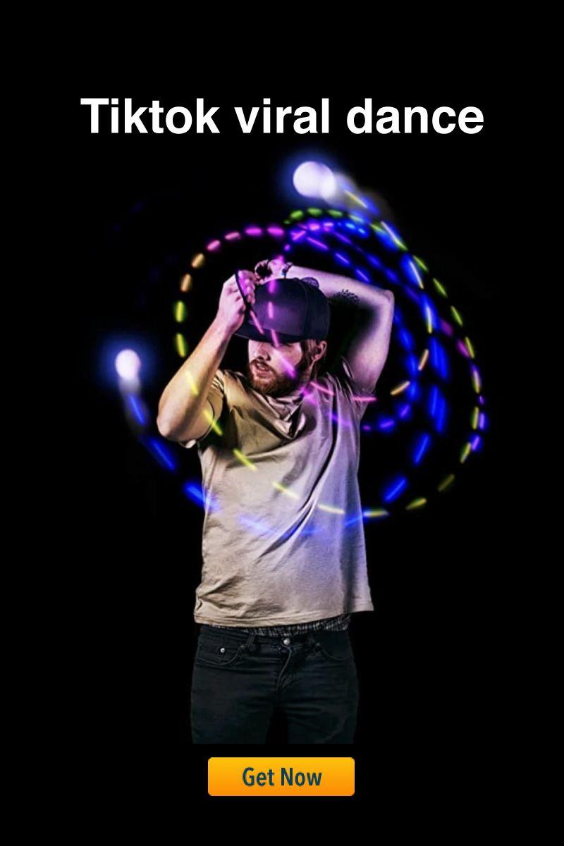 Tiktok Viral Dance Led Poi Balls Viral Dance Viral Ball Lights