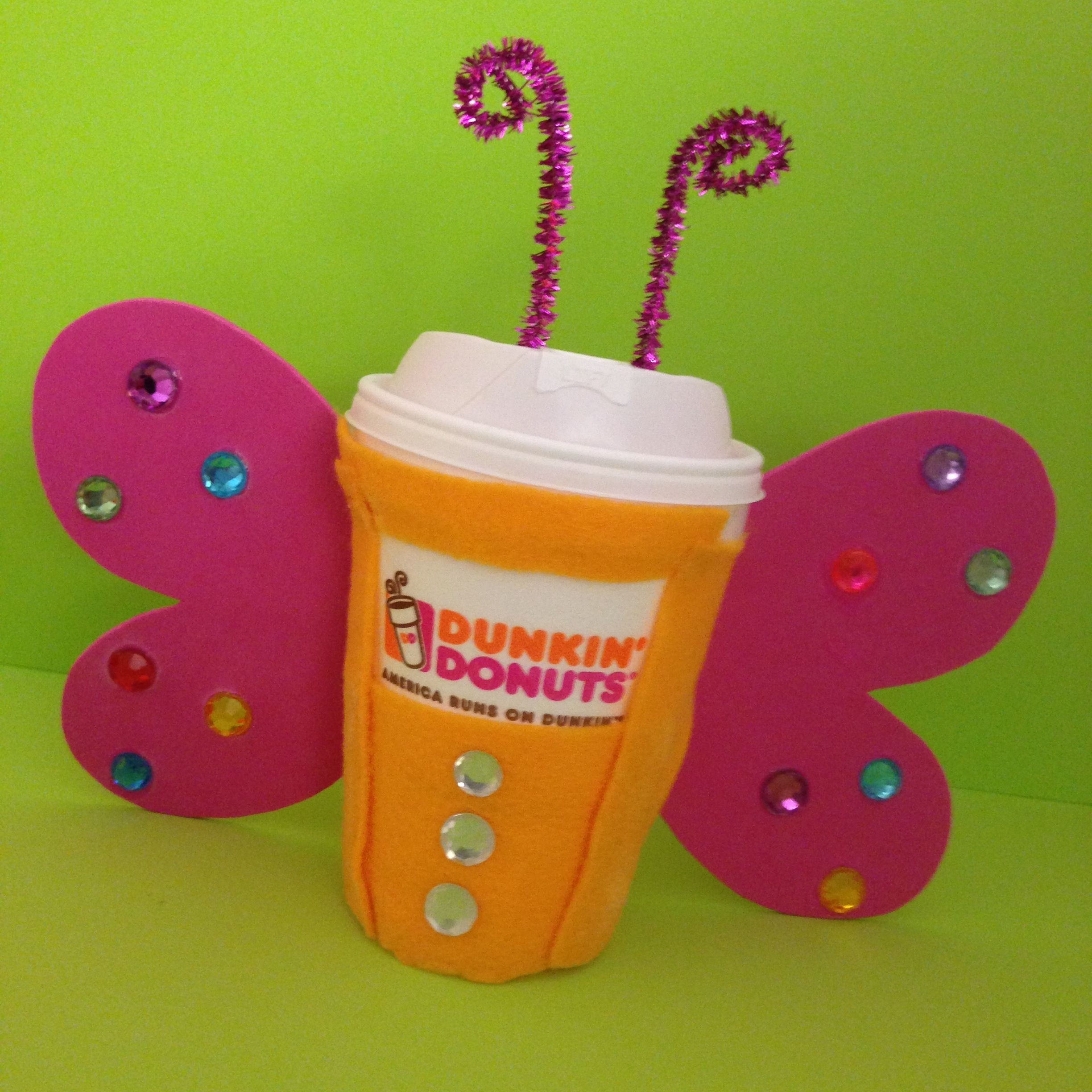 Dress up your DD Coffee cup for Halloween & enter it in