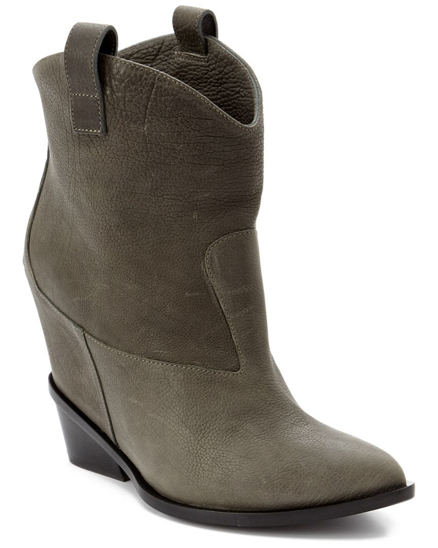 c28e1ac7608f Giuseppe Zanotti Suede Wedge Cowboy Boots is on Rue. Shop it now ...