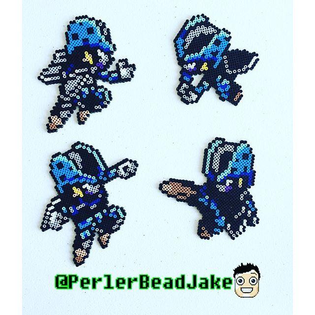 Cell Jr Dbz Mini Perler Beads By Perlerbeadjake Visit Now For 3d