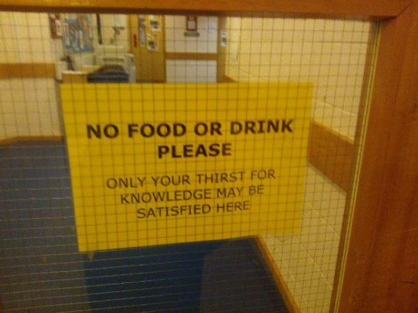 Still my favourite sign in college :D
