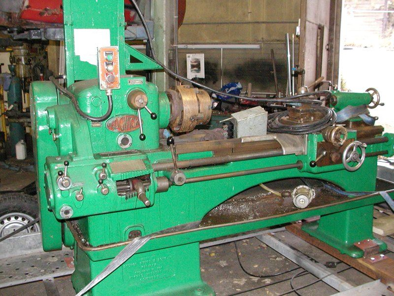 Alfred Herbert Milling Machine
