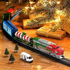 christmas train sets for under the tree - Train For Around Christmas Tree