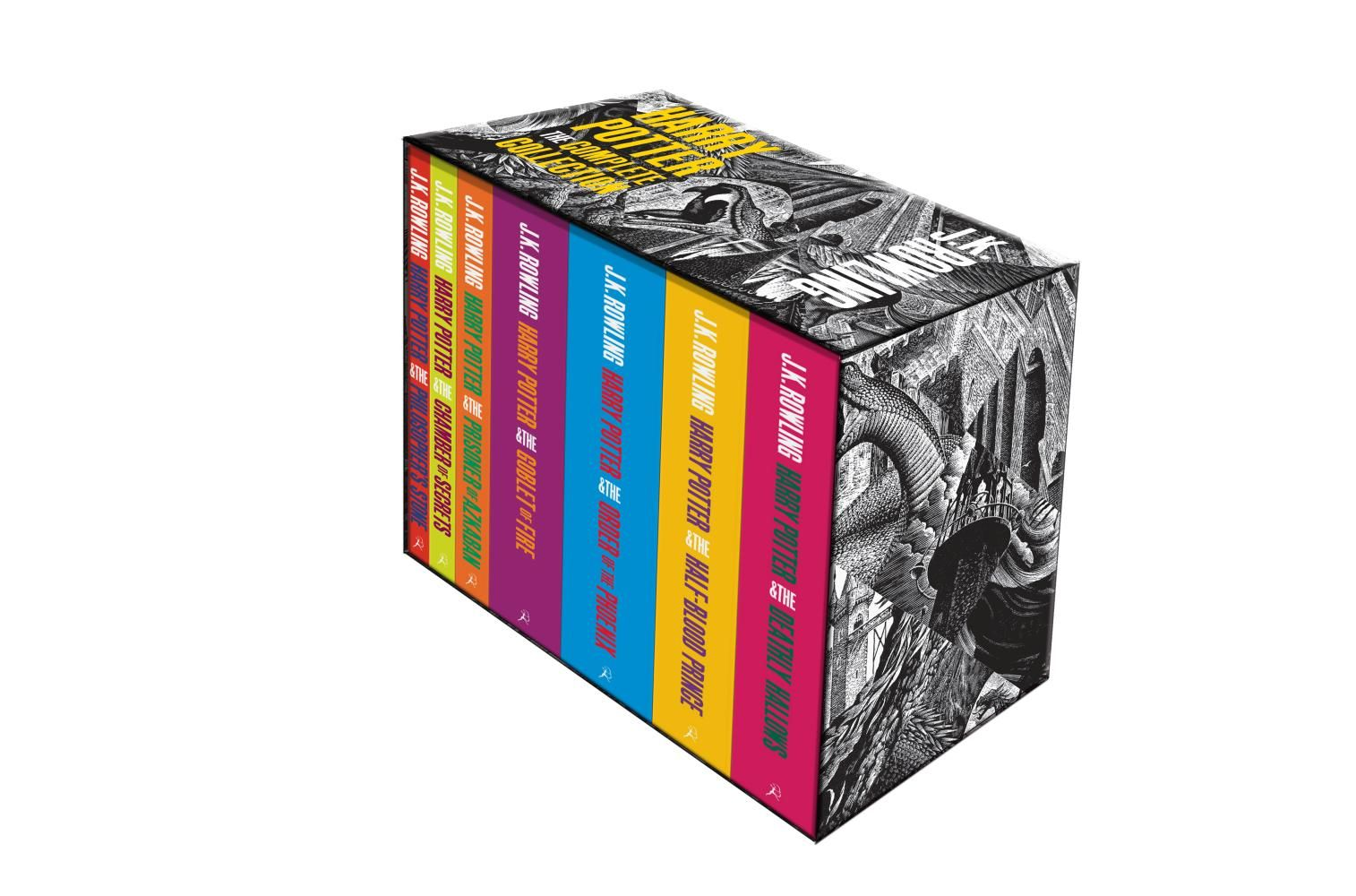 Harry potter complete paperback box set adult editions