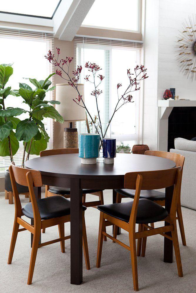 Comedores con mesas redondas en 2019 deco comedor for Mesas de comedor cuadradas de diseno