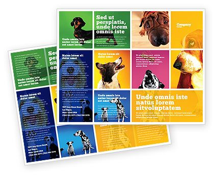Dog Breed Brochure Template 05529 With Images Dog Breeding