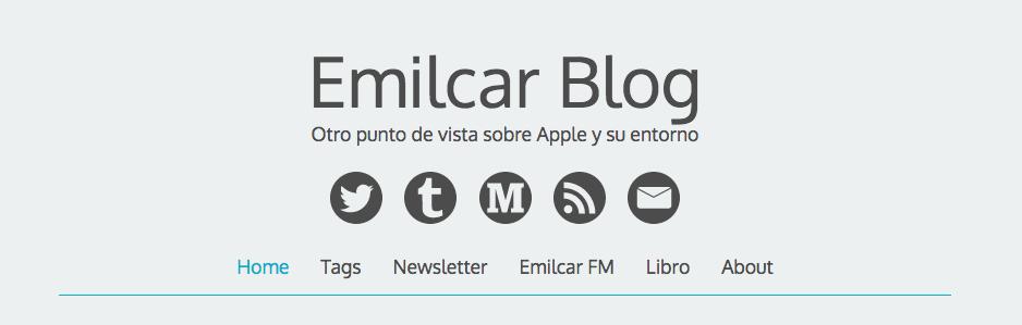 Bloggers Encadenados 4 con Emilico Cano de Emilcar.es