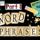 Word Phrase sets are a great tool for students to practice reading common phrases in the English language.  Have the students practice reading the ...