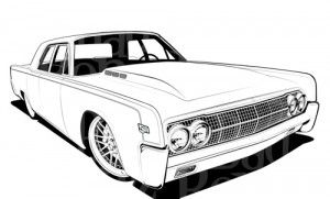 Lowrider Coloring Pages Google Search Retro Cars Cars