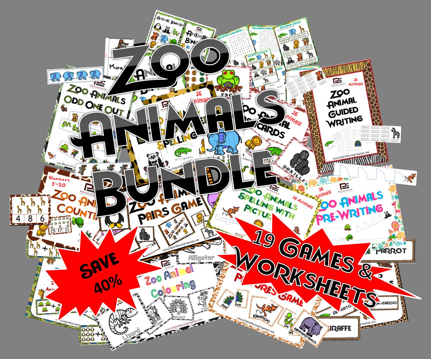 Complete Zoo Animals Bundle