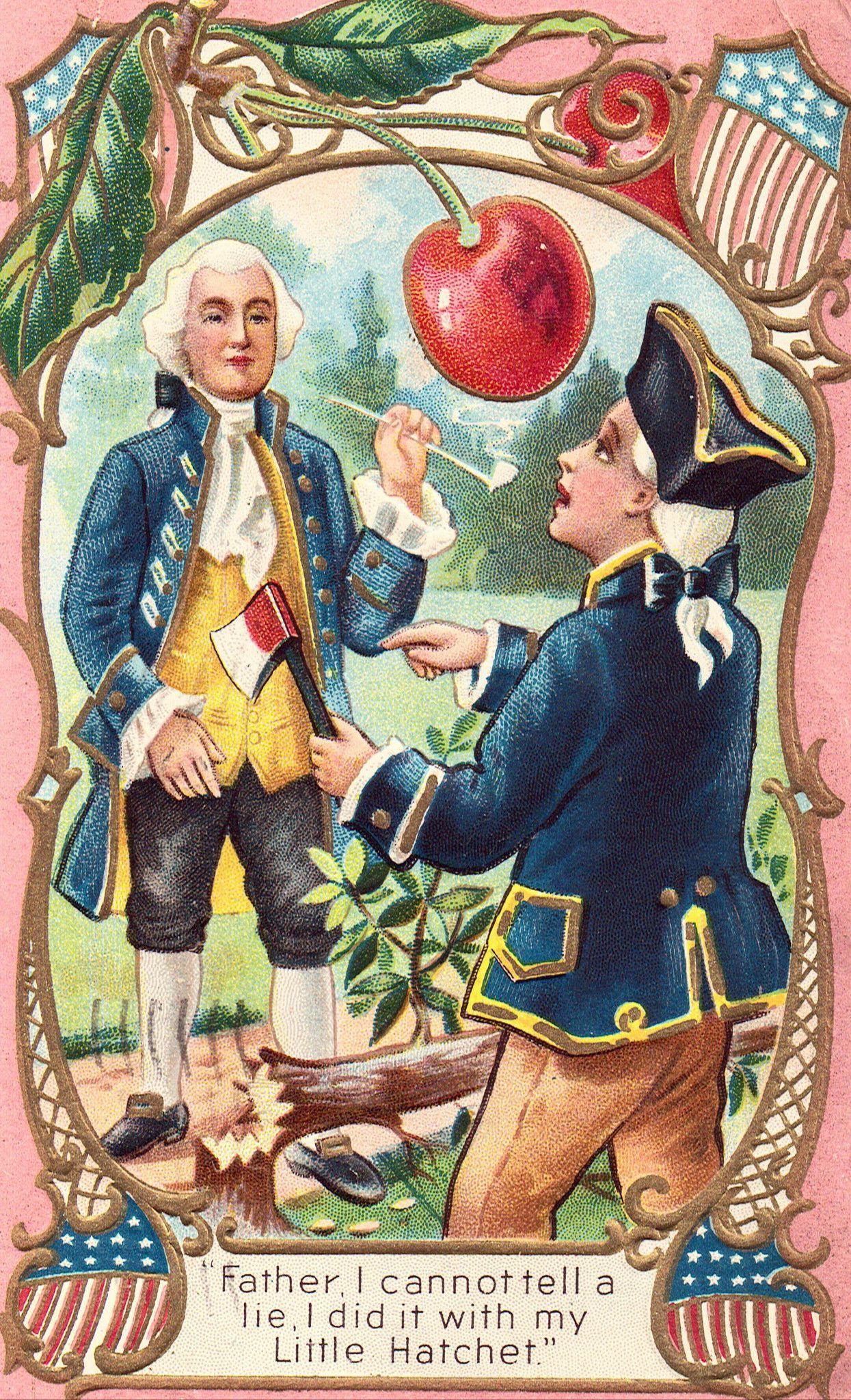 Antique George Washington Postcard