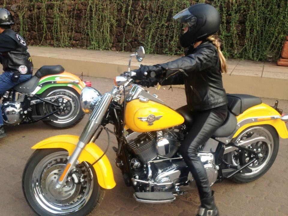rider Willie G Harley Davidson motorcycle christmas chopper bike motorbike