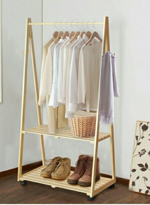 Idea de perchero | organization | Pinterest | Perchero, Ideas y Armario