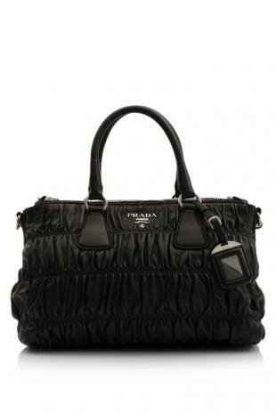 220202cc3c73 Prada Nappa Gaufre Shopping Bag