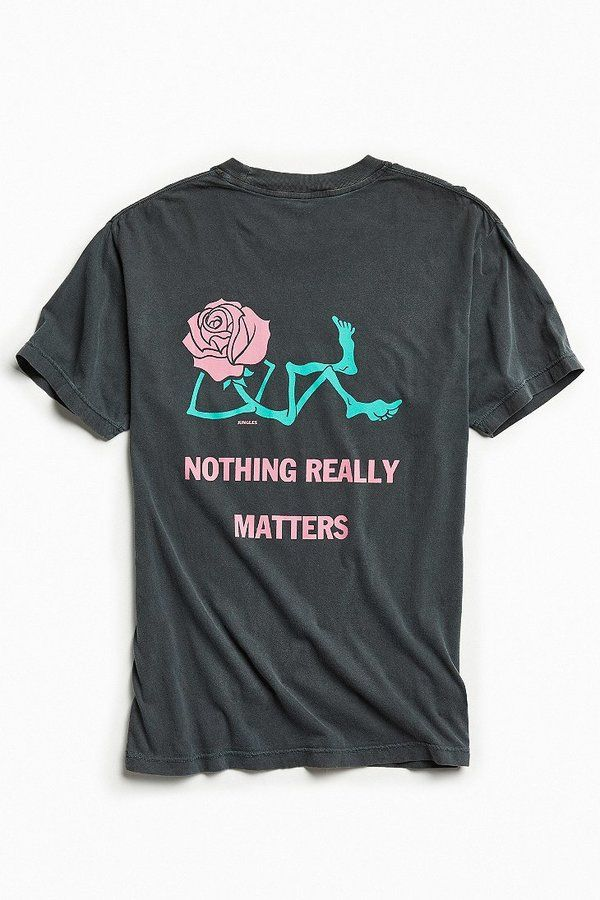 cc178e07c Urban Outfitters Jungles Nothing Really Matters Tee | mens fashion ...