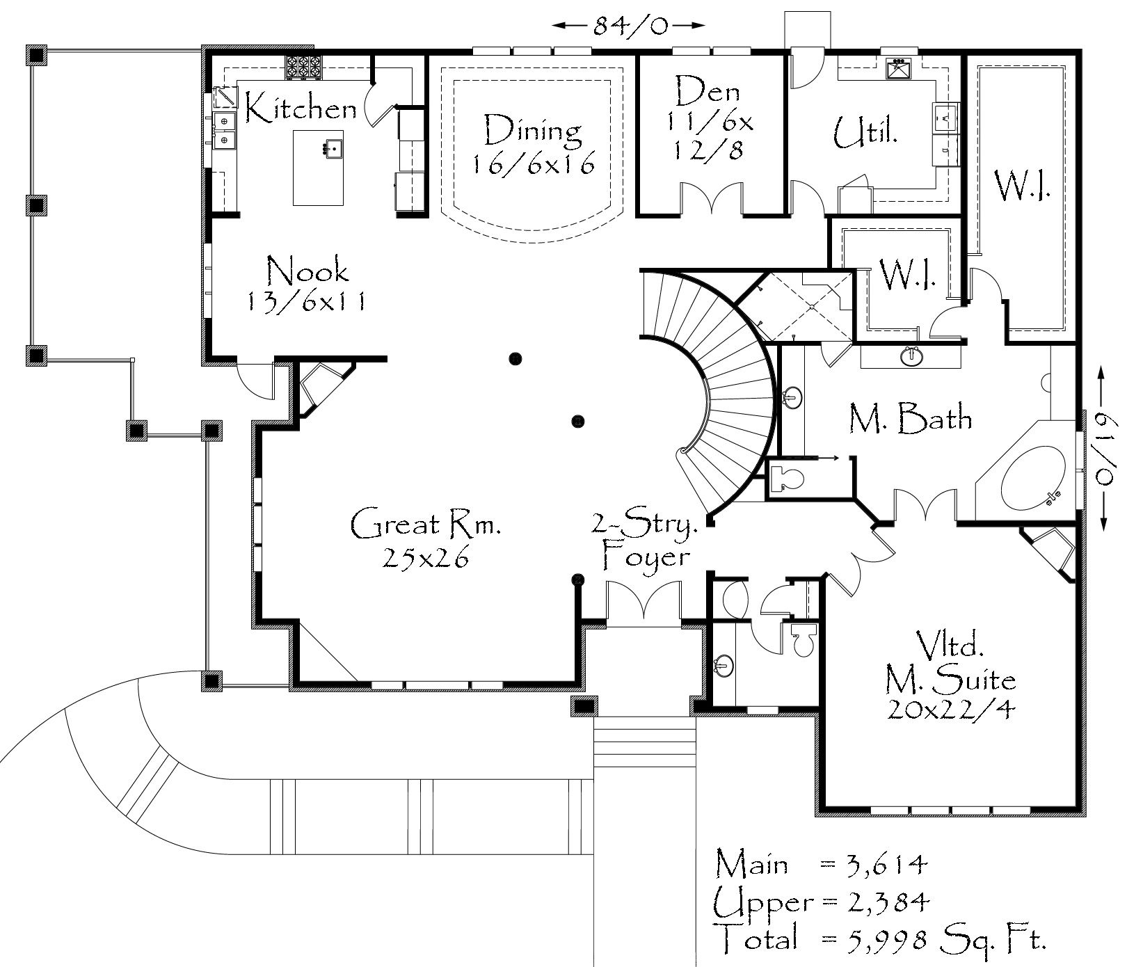 M 5999 House Plan Old World European Homes Country Style House Plans Country Floor Plans House Plans