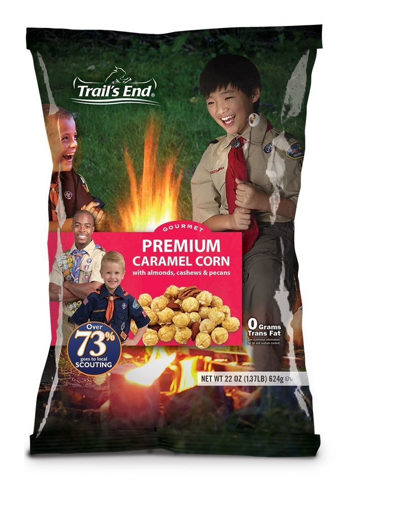 Nutritional Fact Panel - Trails End Salted Caramel Popcorn Clipart  (#2417467) - PikPng
