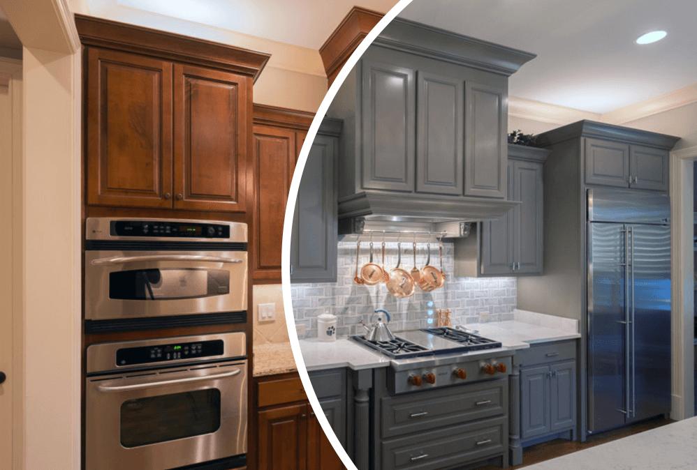 Kitchen Cabinet Refinishing Columbus Ohio 10 Top Kitchen CabiRefinishing   Repainting kitchen cabinets