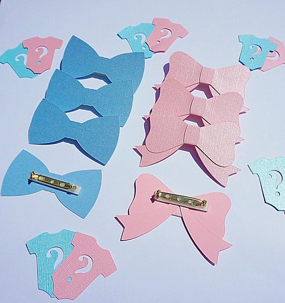 Gender Reveal Pins Gender Reveal Party Gender Reveal Game -7423