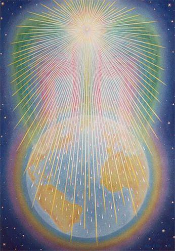 FichArt - Peter and Birgitte Fich Christiansen, Denmark | Awakening art,  Spiritual art, Angel art