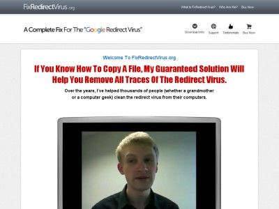 - Fix Redirect Virus -  If You Know How To Copy A File, My Guaranteed Solution Will Help You Remove All Traces Of The Redirect Virus.