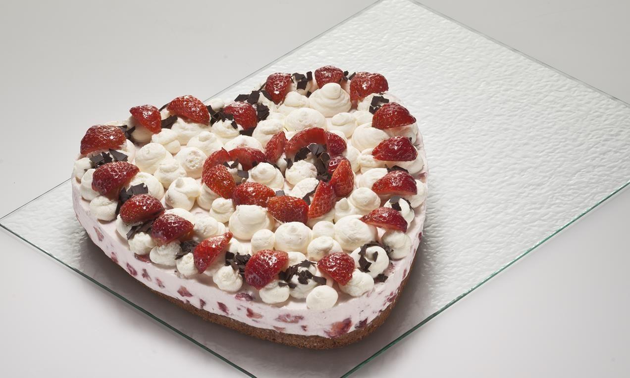 Erdbeer Herz Rezept Dr Oetker Pinterest Erdbeer Torte