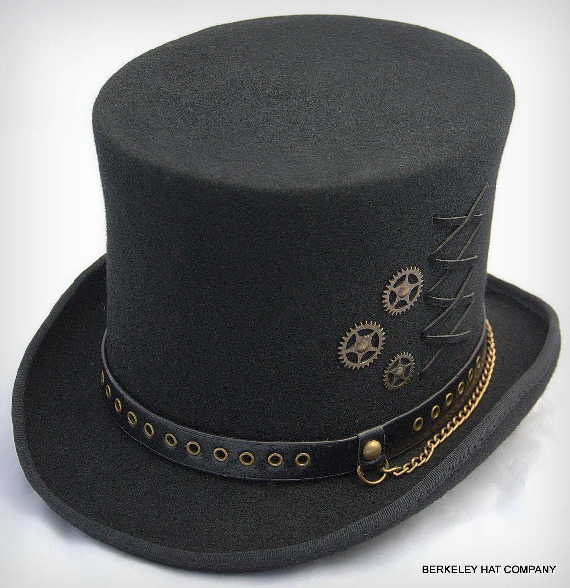 b26177d4402d John | top hats | Steampunk, Steampunk top hat, Steampunk clothing