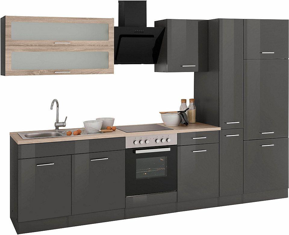 Held Möbel Küchenzeile ohne E-Geräte »Utah«, Breite 300 cm Jetzt ...