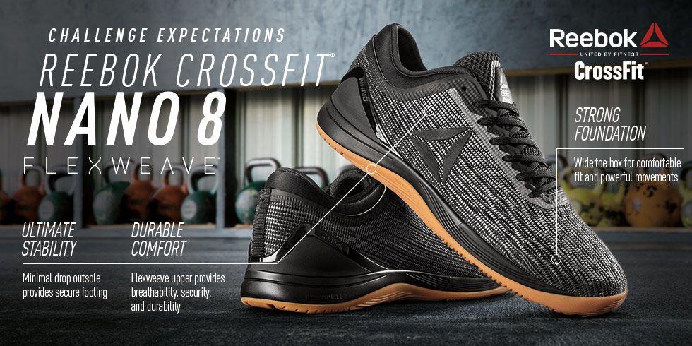 Reebok CrossFit Nano 8 Flexweave - Black  a63eca5ff7a