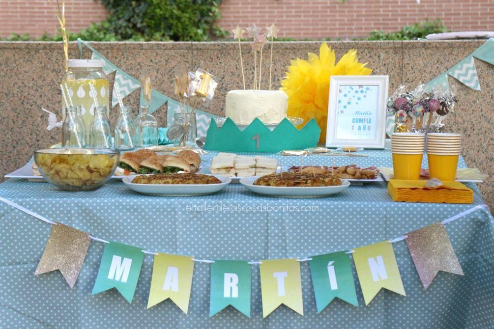 Fiesta de cumplea os para un beb de un a o el taller de - Cosas para fiestas de cumpleanos ...