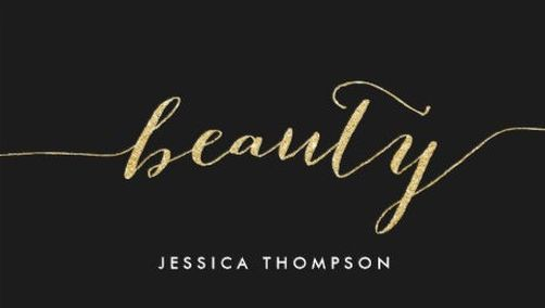 Elegant black faux gold glitter cosmetology beauty business cards elegant black faux gold glitter cosmetology beauty business cards httpzazzle reheart Gallery