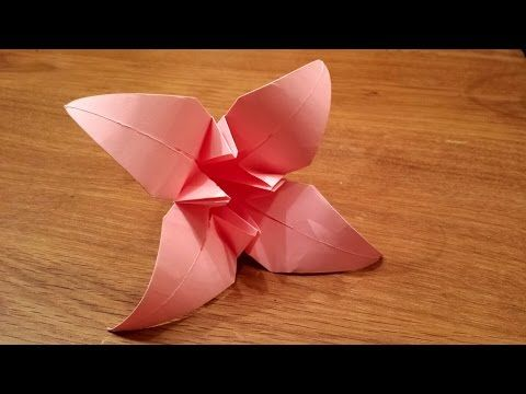 How to make easy origami flowers video instructions origami how to make easy origami flowers video instructions mightylinksfo